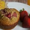 Orange Strawberry Banana Oatmeal Muffins