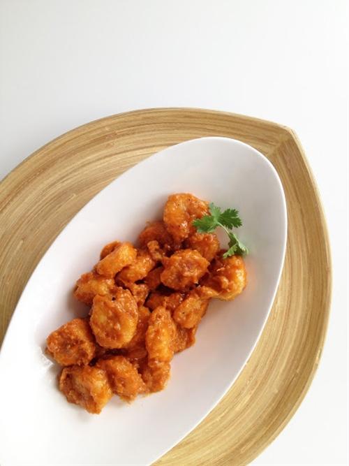 Spicy Mayonnaise Shrimp