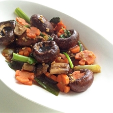 Sesame Mushrooms