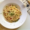 Skinny Spaghetti Carbonara