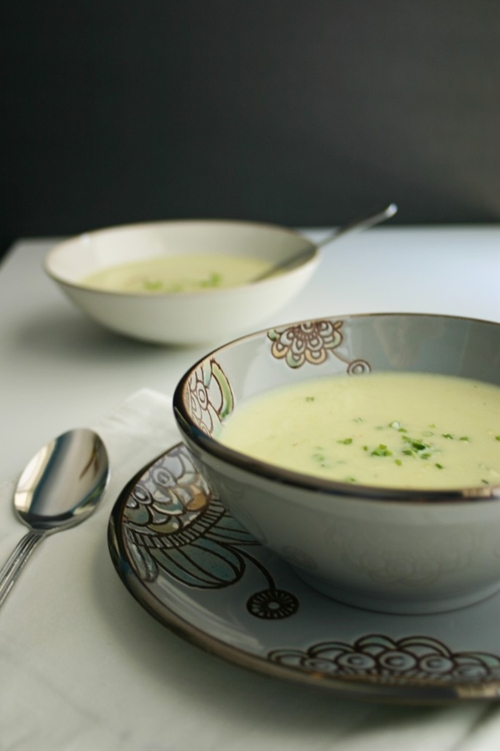 Vichyssoise (Potato and Leek Soup)