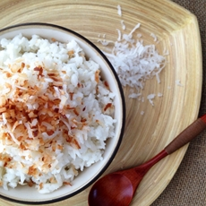 Easy Coconut Rice