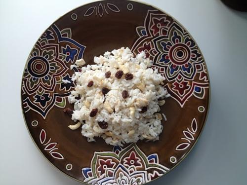 Ghee Rice (Nasi Minyak)