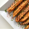 Cilantro and Lime Grilled Sweet Potatoes