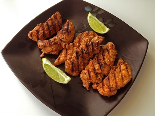 Paprika and Lime Grilled Chicken Tenderloins