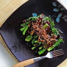 Stir-Fry Greens in Oyster Sauce