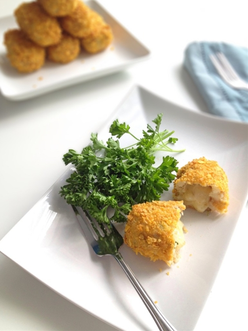 Oven-Baked Tuna and Cheese Croquettes