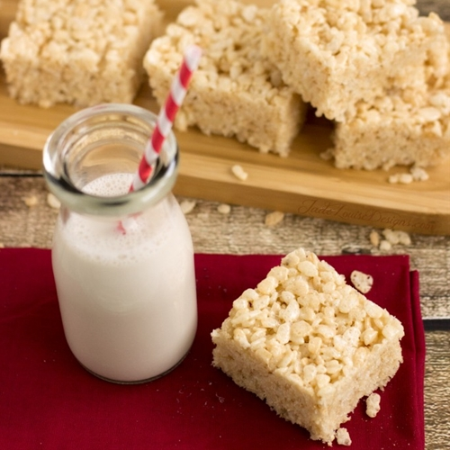 Rice Krispies Treats w/ Coconut Oil