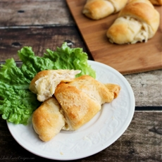 Chicken & Potato Stuffed Croissants