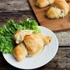 Chicken & Potato Stuffed Croissants