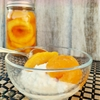 canned peaches without sugar! Honey Canned Peaches