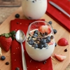 Weight Watchers fruit yogurt parfait
