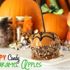 Creepy Candy Apples