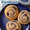 Blueberry cream cheese pinwheels
