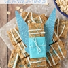 Peanut butter pixie dust granola bars