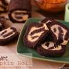 Chocolate pumpkin rolls