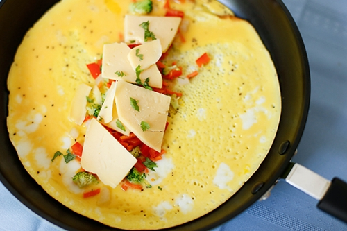 Awesome Veggie Omelette