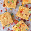 Fruity pebbles blondie bars