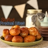 Nutella stuffed soft pretzel bites