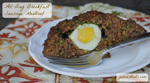 All-Day Breakfast Sausage Meatloaf