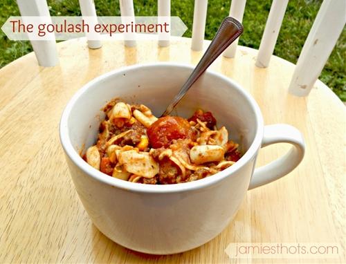 Our evolving chili goulash