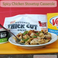 Easy Spicy Chicken Stovetop Casserole