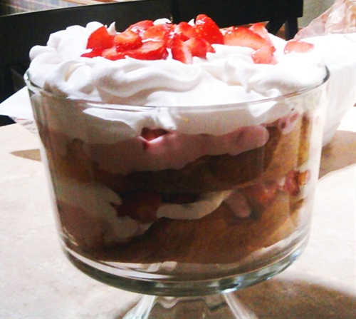 Fruit and yogurt trifle a healthy dessert for all recipe | Chefthisup