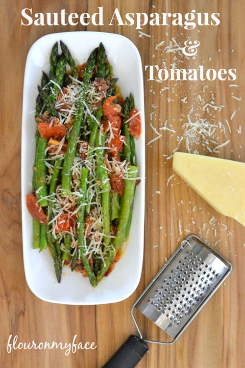 Sauteed Asparagus and Tomatoes