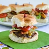 Stuffed Bacon Cheeseburger Sliders