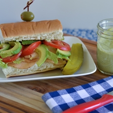 Chipotle Chicken Sub with Avocado Aioli #DeliFreshBOLD