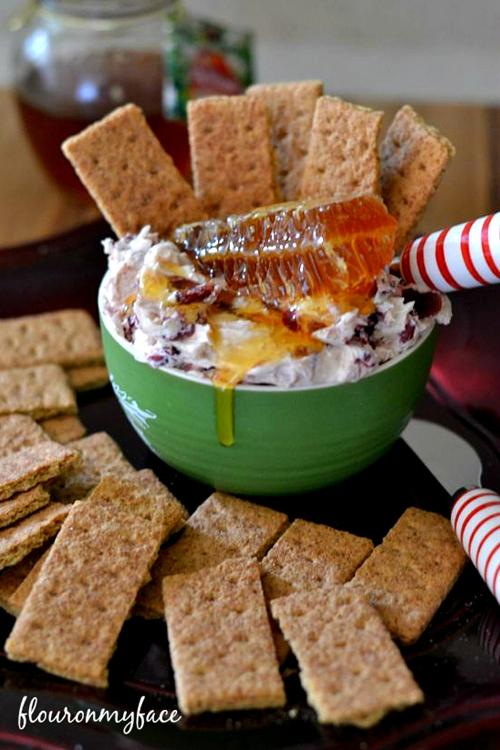 Honey Cranberry Holiday Dip
