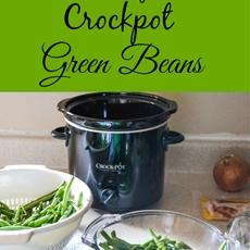 Easy Crock Pot Green Beans