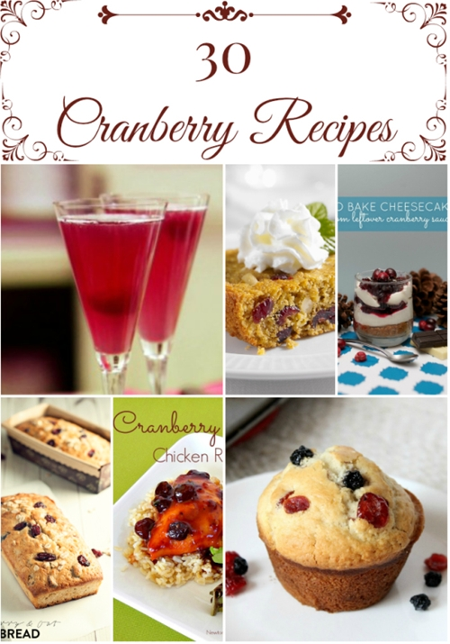 30 Cranberry Recipes