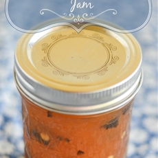 Peach Poblano Pepper Jam