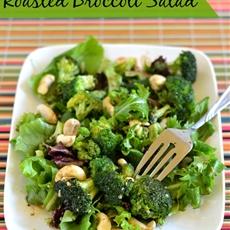 Roasted Broccoli Salad Balsamic Vinaigrette