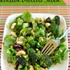 Roasted Broccoli Salad Balsamic Vinaigrette