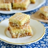 Peach Almond Jam Bars recipe