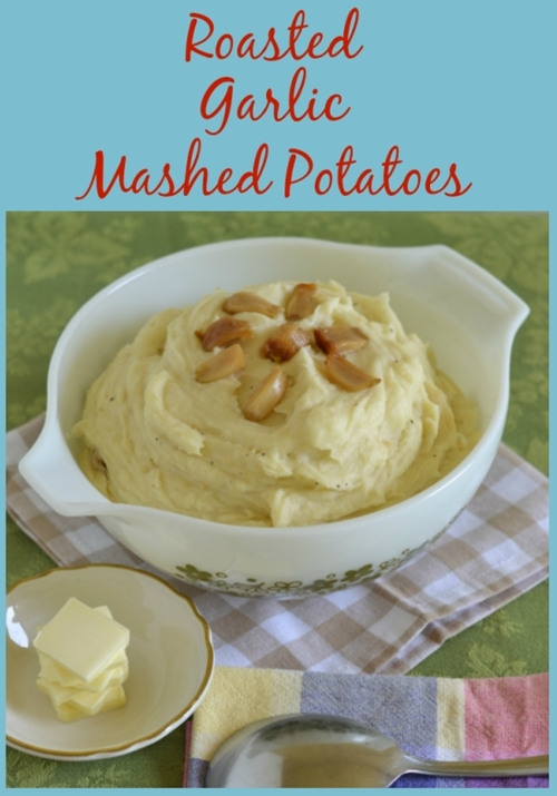 Roasted Garlic Mashed Potatoes