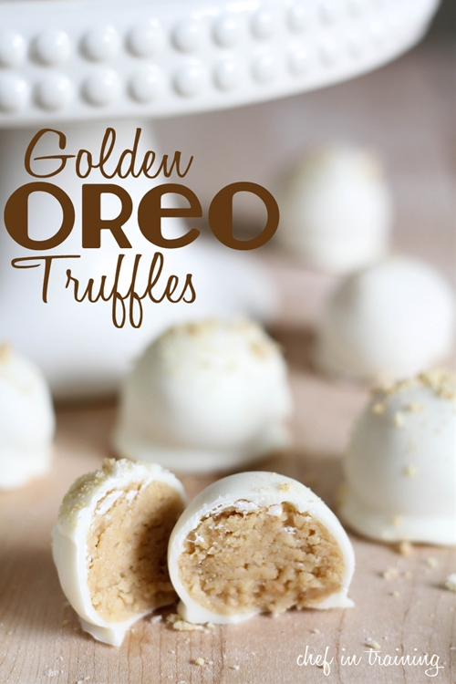 No-Bake Golden Oreo Truffles