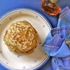 Buckwheat Hotcakes (pikelets) with Maple Syrup
