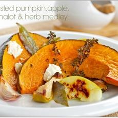 Roasted Pumpkin, Eschalot and Herb Medley