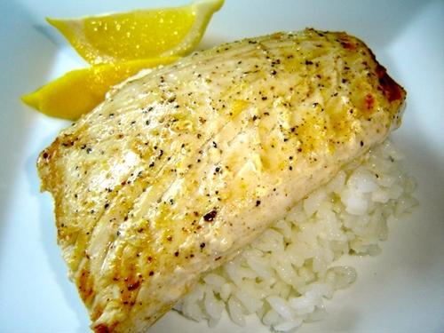 Red Lobster Lemon-Pepper Grilled Mahi-Mahi Recipe