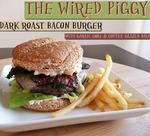Dark Roast Bacon Burger