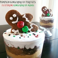 Pumpkin-Gingerbread Parfait