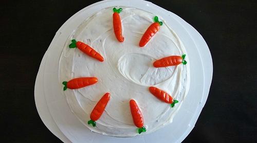 No Fuss Carrot Cake