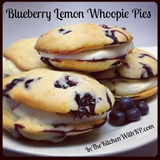 Blueberry Lemon Whoopie Pies