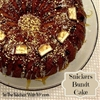 Snickers Bundt Cake