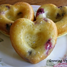 Blueberry Lemon Baked Donuts