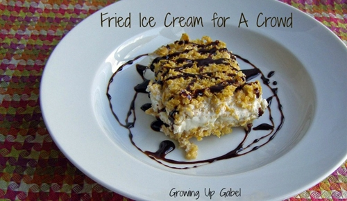 """Fried"" Ice Cream for a Crowd"