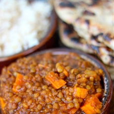 Crock Pot Indian Spiced Lentils